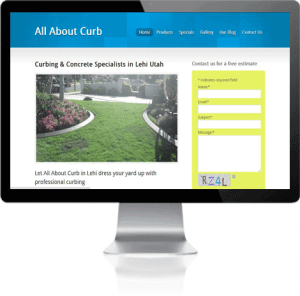 Image of the website - All About Curb